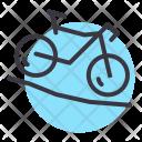 Mountain Cycling Cycle Icon