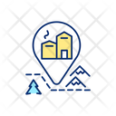 Mountain Chalet Cabin Icon