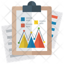 Mountain Chart Business Analysis Business Evaluation Icon