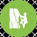Mountain Climbing Activity Icon