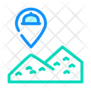 Mountain Delivery Food Delivery Delivery Location Icon