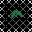 Mountain Flag Icon