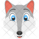Mountain Fox White Icon