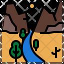 Mountain Highway Icon