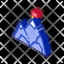 Flag Mountain Peak Icon