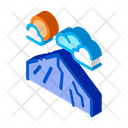 Mountain Peak Landscape Icon