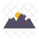 Mountain Range Alpine Mountains Icon