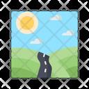 Mountain Road Icon