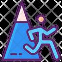 Mountain Running Icon