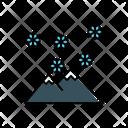 Mountain Snow Icon
