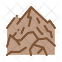 Mountain View Camping Icon