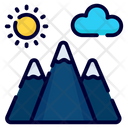 Nature Landscape Mountain Icon