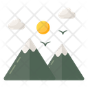 Mountaineering Icon