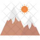 Mountains Landscape Scenery Icon