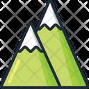Mountains Landscape Nature Icon