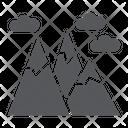 Mountains Mountain Landscape Icon