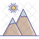 Environment Mountains Nature Icon