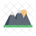 Mountains Hills Nature Icon