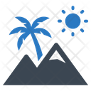 Nature Outdoor Mountains Icon
