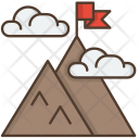 Mountains Mountain Nature Icon
