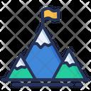 Mission Mountains Flag Icon