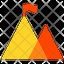 Mountains Hills Flag Icon