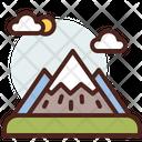 Mountains Mountain Field Icon