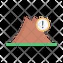 Mountains Hills Danger Icon