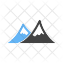 Mountains Scenery Icon