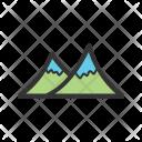 Mountains Scenery Nature Icon