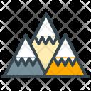 Mountains Mountain Rock Icon