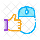 Computer Mouse Hand Icon