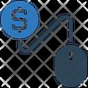 Mouse Dollar Money Icon