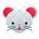 Mouse Face Animal Icon