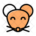 Mouse Smiling Icon