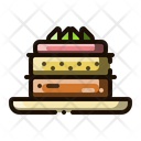 Mousse Cake Cake Custard Icon