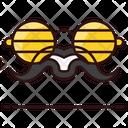 Moustache Whisker Glasses Icon