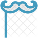 Hipster Party Props Costume Icon