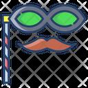 Moustache Mask Icon