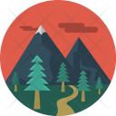 Moutain Holiday Camp Icon