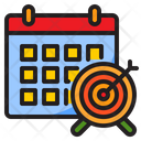 Mouth Target Target Date Icon