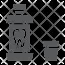 Mouthwash Bottle Dental Icon