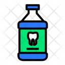 Mouthwash Tooth Dental Icon