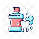 Mouthwash For Teeth Health Icon