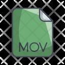Mov Video File Icon