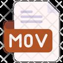 Mov Document File Icon