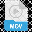 File Mov Format Icon