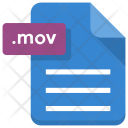 Mov File Sheet Icon