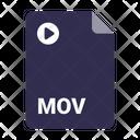 Format Document Mov Icon