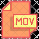 Mov File Format File Icon